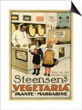 Advert, Margarine 1915 Láminas