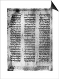 Hebrew Version of the Pentateuch, 1926 Posters