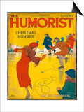 The Humorist Christmas Number 1938 - an Ice Proposal Prints by W. Heath Robinson