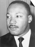 Martin Luther King Jnr, American Black Civil Rights Campaigner, C1968 Plakater
