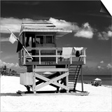Life Guard Station - South Beach - Miami - Florida - United States Posters by Philippe Hugonnard