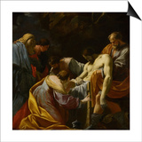 The Entombment Prints by Simon Vouet