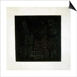 Black Square, Early 1920S Posters af Kazimir Malevich