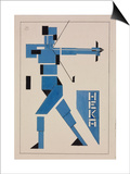 Design for Poster Art by Theo Van Doesburg