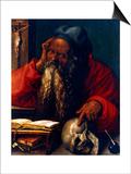 St Jerome, 1521 Affiche par Albrecht Durer