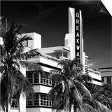 Art Deco Architecture of Miami Beach - The Esplendor Hotel Breakwater South Beach - Ocean Drive Prints by Philippe Hugonnard