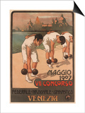 Vii Federal Gymnastics Competition, 1907 Posters par Giovanni Battista Carpanetto