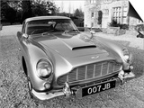 James Bond's Aston Martin DB5, Used in the Film Goldfinger Prints