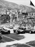 Cars on the Starting Grid, Monaco, 1950S Prints
