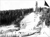 Holmenkollbakken Skiing Plakat
