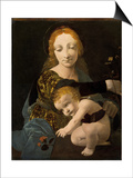 The Virgin and Child, 1480 Prints by Giovanni Antonio Boltraffio