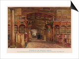 Bodleian Library 1903 Art by John Fulleylove