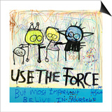 Use the Force Print by Poul Pava