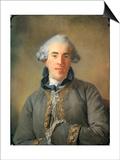 Pierre-Ambroise-Francois Choderlos De Laclos (1741-180) Posters by Jean-Baptiste Perronneau