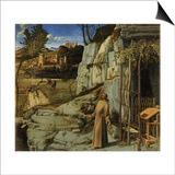Saint Francis in the Desert, C. 1480 Prints by Giovanni Bellini
