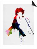 Tina Watercolor Kunstdruck von Lora Feldman