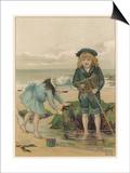 Children in Rockpool Prints