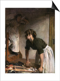 In the Wash-House Posters by William Orpen