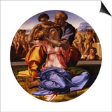 The Holy Family (The Doni Tond) Prints by  Michelangelo Buonarroti