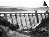 Elan Valley Dam Print by Fred Musto