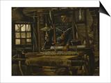 A Weaver's Cottage Poster par Vincent van Gogh