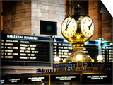 Grand Central Terminal's Four-Sided Seth Thomas Clock - Manhattan - New York Art by Philippe Hugonnard