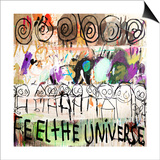 Feel the Universe Plakater af Poul Pava