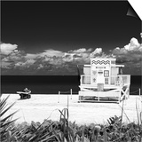 Life Guard Station - South Beach - Miami - Florida - United States Prints by Philippe Hugonnard