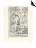 Justitia (Justice) Print by Cornelis Massys