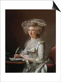 Portrait of Madame Roland Prints by Adelaide Labille-Guiard