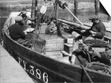 Cornish Fishermen Prints by Fred Musto