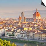 Italy, Italia. Tuscany, Toscana. Firenze District. Florence, Firenze. Duomo Santa Maria Del Fiore Prints by Francesco Iacobelli