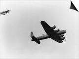 Lancaster Bomber in Air Print