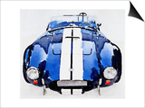 1962 AC Cobra Shelby Watercolor Posters by  NaxArt