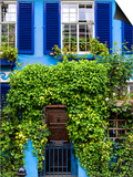 Blue House in Notting Hill - London - UK - England - United Kingdom - Europe Prints by Philippe Hugonnard