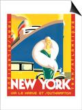 Transatlantic Plakater af Brian James