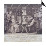 La Pharmacie Rustique, C1775 Posters by Barthelemi Hubner