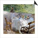 Breakfast Time, 1887 Poster von Hanna Pauli