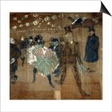 La Goulue and Valentin Le Desosse, 1895 Pósters por Henri de Toulouse-Lautrec