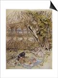 Wind in Willows, Grahame Art by Arthur Rackham