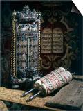 Scrolls of the Torah, Torah Cover and the Ten Commandments, 1797 Prints