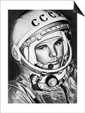 Yuri Gagarin, Russian Cosmonaut, 1961 Prints