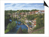Knaresborough Yorkshire Print by Richard Harpum