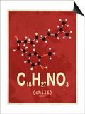 Molecule Chili Pósters