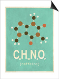 Molecule Coffeine Art