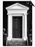 Victorian Blue Door - Architecure & Buildings - London - UK - England - United Kingdom - Europe Posters by Philippe Hugonnard