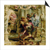 The Death of Achilles, 1630-1635 Prints by Pieter Paul Rubens