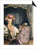Casanova, Leroux, Baret Print by Auguste Leroux