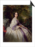Portrait of Countess Maria Ivanovna Lamsdorf, Nee Beck, 1859 Posters by Franz Xavier Winterhalter