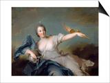 Marie-Anne De Nesle, Marquise De La Tournelle, Duchesse De Chateauroux (1717-174) Posters by Jean-Marc Nattier